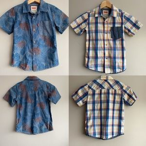 Two Levi's Shirts